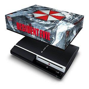 PS3 Fat Capa Anti Poeira - Resident Evil