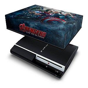 PS3 Fat Capa Anti Poeira - Vingadores 2
