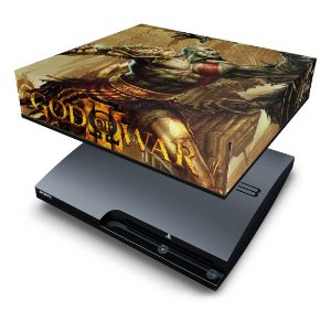PS3 Slim Capa Anti Poeira - God Of War 3 #1