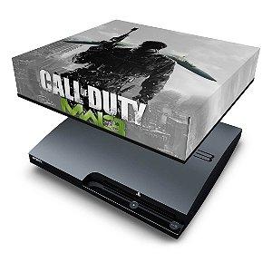 PS3 Slim Capa Anti Poeira - Modern Warfare Mw3