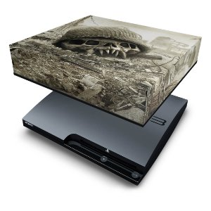 PS3 Slim Capa Anti Poeira - Resistance Fall Of