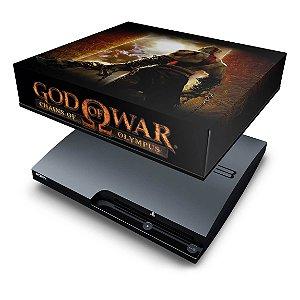 PS3 Slim Capa Anti Poeira - God Of War 2
