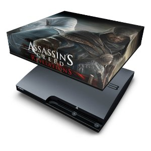 PS3 Slim Capa Anti Poeira - Assassins Creed Revelations