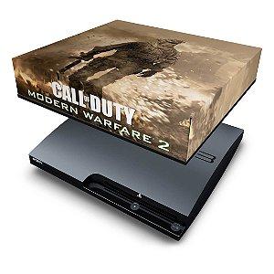 PS3 Slim Capa Anti Poeira - Modern Warfare 2