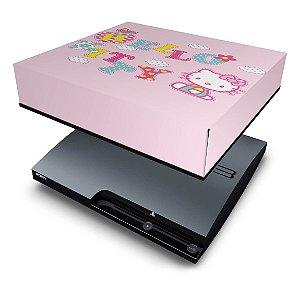 PS3 Slim Capa Anti Poeira - Hello Kitty