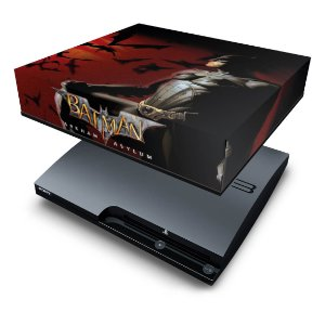 PS3 Slim Capa Anti Poeira - Batman Arkham