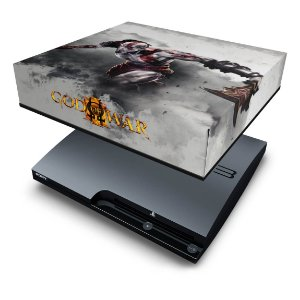 PS3 Slim Capa Anti Poeira - God Of War 3 #2