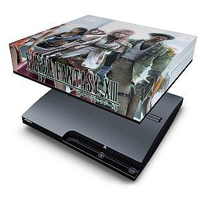 PS3 Slim Capa Anti Poeira - Final Fantasy Xiii #2