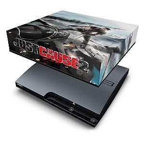 PS3 Slim Capa Anti Poeira - Just Cause 2