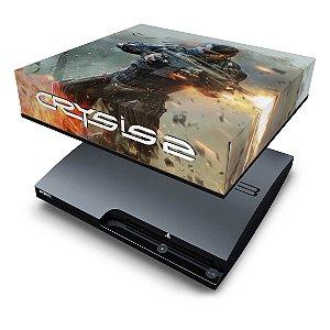 PS3 Slim Capa Anti Poeira - Crysis 2