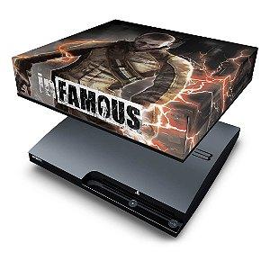 PS3 Slim Capa Anti Poeira - Infamous 2