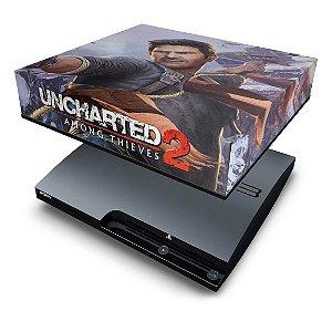 PS3 Slim Capa Anti Poeira - Uncharted 2
