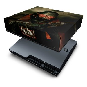 PS3 Slim Capa Anti Poeira - Fallout New