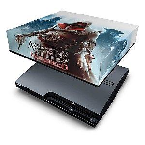 PS3 Slim Capa Anti Poeira - Assassins Creed Brotherhood #C