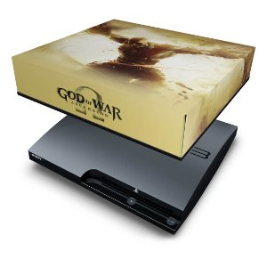PS3 Slim Capa Anti Poeira - God Of War 4