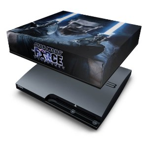 PS3 Slim Capa Anti Poeira - Star Wars Force