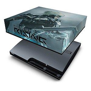 PS3 Slim Capa Anti Poeira - Metal Gear Solid