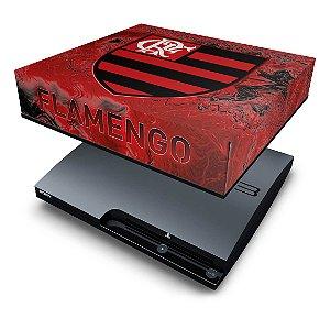 PS3 Slim Capa Anti Poeira - Flamengo