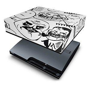 PS3 Slim Capa Anti Poeira - Memes