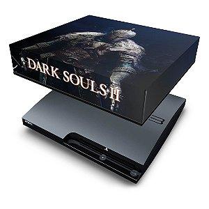 PS3 Slim Capa Anti Poeira - Dark Souls 2 Ii