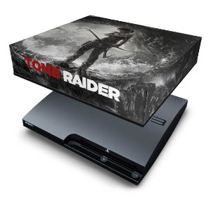 PS3 Slim Capa Anti Poeira - Tomb Raider 3