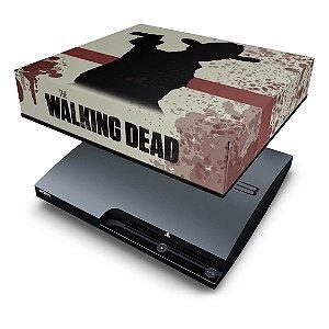 PS3 Slim Capa Anti Poeira - The Walking Dead #1