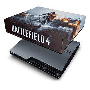 PS3 Slim Capa Anti Poeira - Battlefield 4