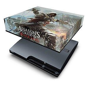 PS3 Slim Capa Anti Poeira - Assassins Creed IV Black Flag