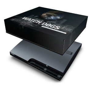 PS3 Slim Capa Anti Poeira - Watch Dogs