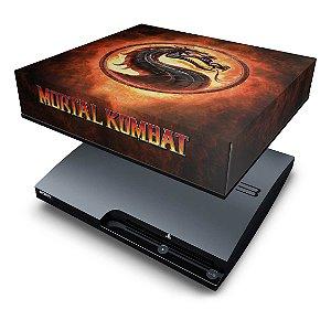 PS3 Slim Capa Anti Poeira - Mortal Kombat