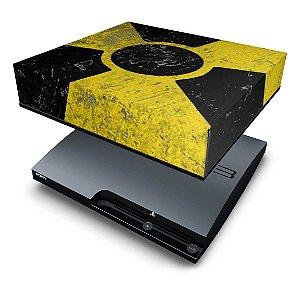 PS3 Slim Capa Anti Poeira - Radioativo