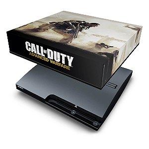 PS3 Slim Capa Anti Poeira - Call Of Duty Advanced Warfare