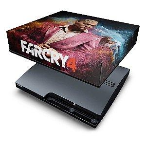 PS3 Slim Capa Anti Poeira - Far Cry 4