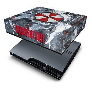 PS3 Slim Capa Anti Poeira - Resident Evil