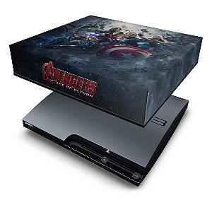 PS3 Slim Capa Anti Poeira - Vingadores 2