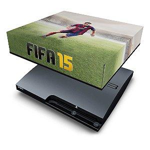 PS3 Slim Capa Anti Poeira - Fifa 15