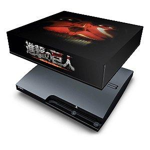 PS3 Slim Capa Anti Poeira - Attack On Titan #b