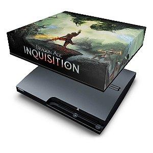 PS3 Slim Capa Anti Poeira - Dragon Age Inquisition