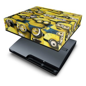 PS3 Slim Capa Anti Poeira - Minions