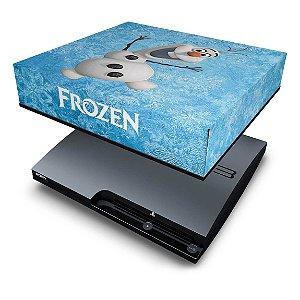 PS3 Slim Capa Anti Poeira - Frozen
