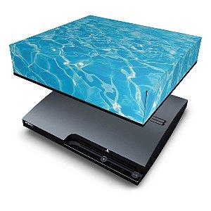 PS3 Slim Capa Anti Poeira - Aquático Água