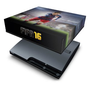 PS3 Slim Capa Anti Poeira - Fifa 16