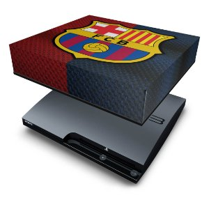 PS3 Slim Capa Anti Poeira - Barcelona