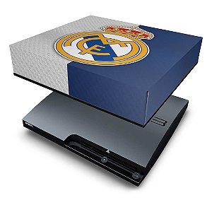 PS3 Slim Capa Anti Poeira - Real Madrid
