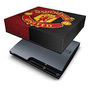 PS3 Slim Capa Anti Poeira - Manchester United