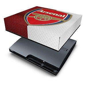 PS3 Slim Capa Anti Poeira - Arsenal