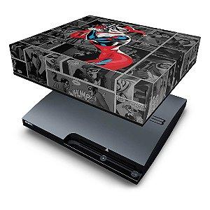 PS3 Slim Capa Anti Poeira - Arlequina Harley Quinn