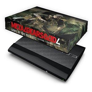 PS3 Super Slim Capa Anti Poeira - Metal Gear Solid #b