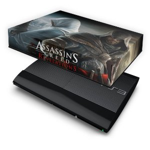 PS3 Super Slim Capa Anti Poeira - Assassins Creed Revelations