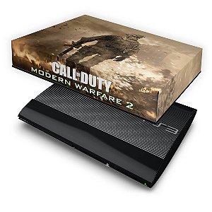 PS3 Super Slim Capa Anti Poeira - Modern Warfare 2